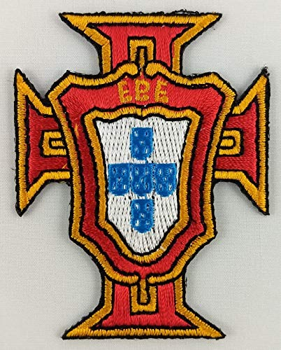 (Embroidery Patch Portugal FC Football Club Soccer Badge Applique 2 1/8