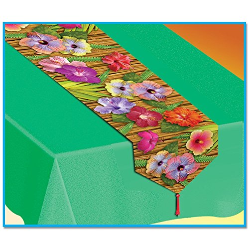 Printed-Luau-Table-Runner-Party-Accessory-1-Count-1pkg
