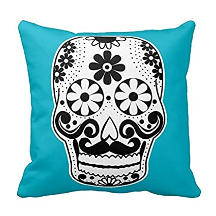 Amazon Throw Pillows For Couch Black And White Mustache Sugar Gorgeous White Decorative Pillows For Couch