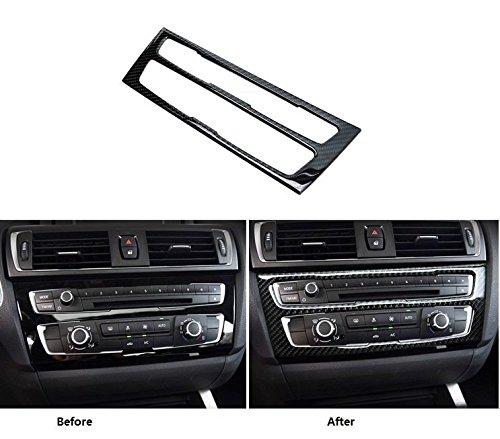 Eppar Carbon Fiber CD Control Cover for BMW 2 Series F22 2013-2015 218i 220i 228i M235i