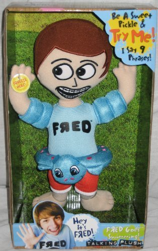 iCarly Talking Fred Goes Swimming Plush Doll