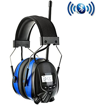 PROTEAR Wireless Bluetooth & AM FM Radio Headphones with
