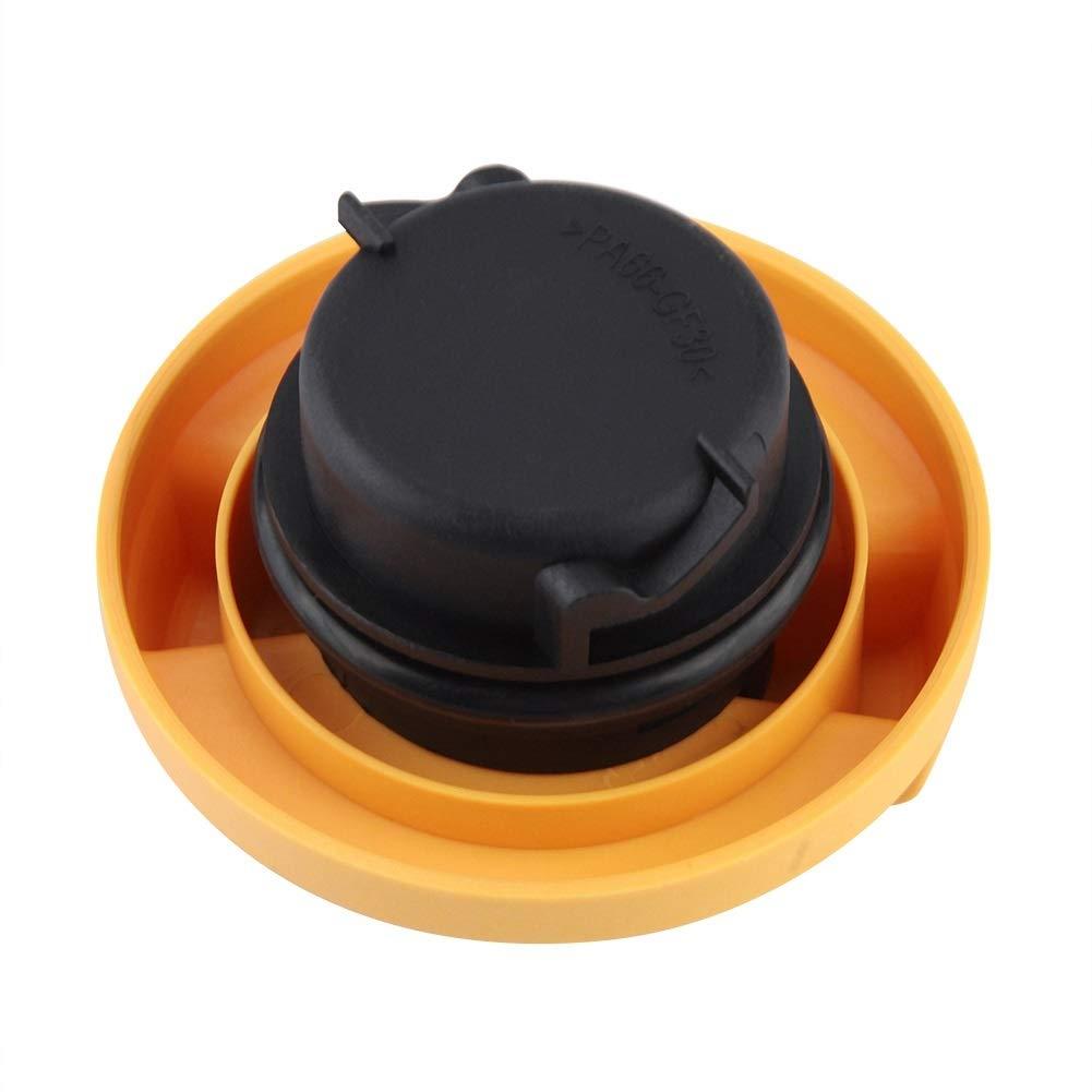 Tapa de llenado de aceite del motor Cubierta del tanque de llenado de combustible para Astra//Corsa 90536291 720838 Cubierta de llenado de combustible