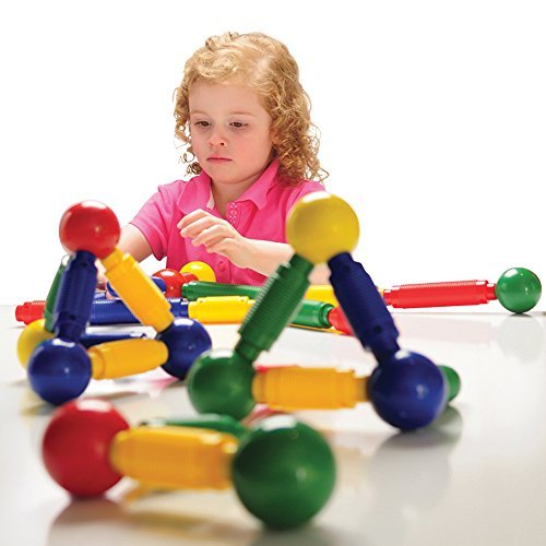 Constructive Playthings NAN-6 Jumbo Magnetic Builders, 36 Piece