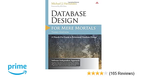 Database Design For Mere Mortals 3rd Pdf