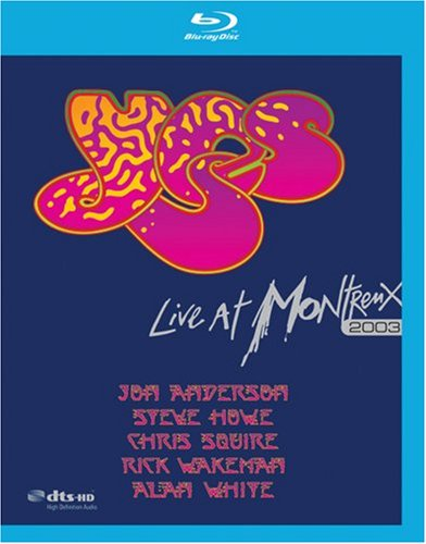 Blu-ray : Yes - Live at Montreux 2003