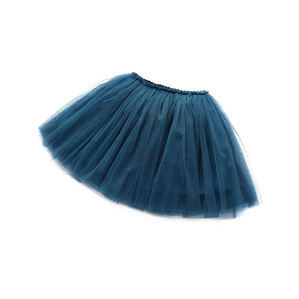 Little Big Girls 3 Layers Tulle Tutu Skirt Princess Party Dancing Ballerina Skirt Girls Clothes