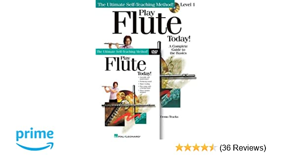 Amazon com: Play Flute Today! Beginner's Pack: Book/CD/DVD