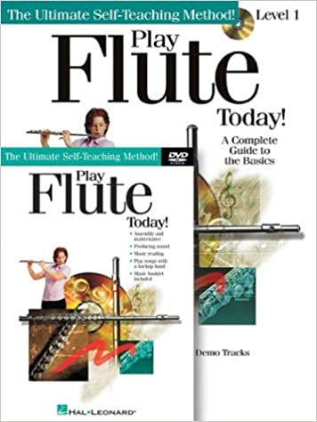 Amazon com: Play Flute Today! Beginner's Pack: Book/CD/DVD Pack