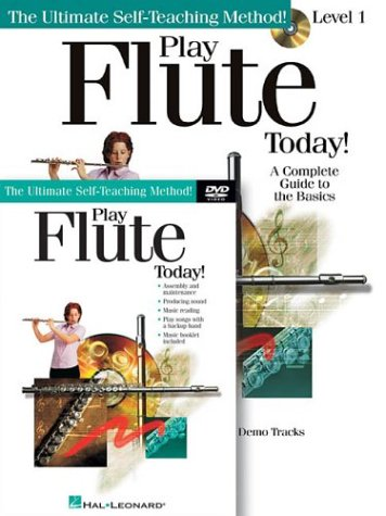 Play Flute Today! Beginner's Pack: Book/CD/DVD Pack