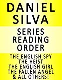 download ebook daniel silva — series reading order (series list) — in order: the english spy, the heist, the english girl, the fallen angel, portrait of a spy, the rembrandt affair, the defector & the confessor pdf epub
