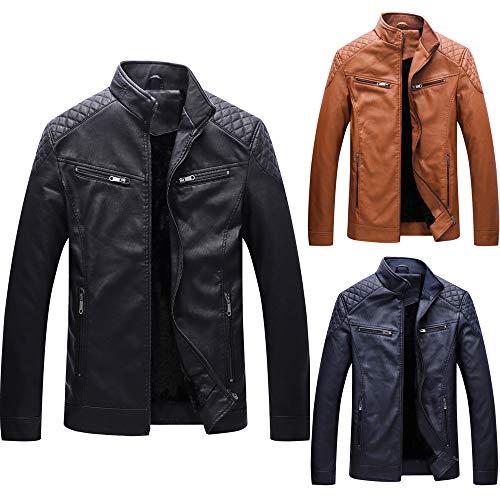 Invernale Lungo Homebaby Forti Scuro Blu Classico 01 Cachemire Ecopelle Cappotto Sportivo Motociclista Spessa Abbigliamento Caldo Taglie Elegante Giacca Outwear Felpa Tops Casual Uomo wqSnAdS7