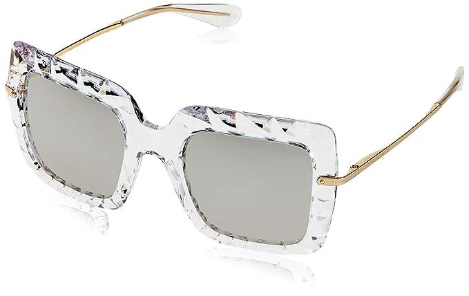 a068f6d35b Dolce & Gabbana 0Dg6111 Gafas de sol, Crystal, 51 para Mujer: Amazon ...