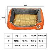 Pet Deluxe Dog Bed, Super Soft Pet Sofa Cats