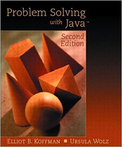 problem solving with java koffman