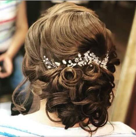 Nuziale Ballo Tiara Damigella D/'onore Flowergirl Bambino Hairband ARGENTO DIAMANTATI