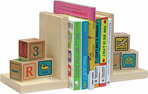 Alphablock Bookends - Made in USA