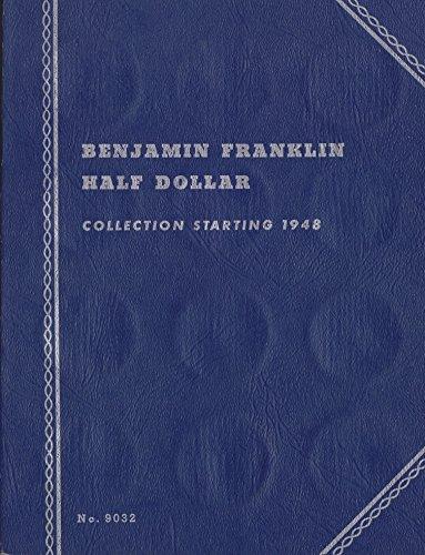 1948-DATE 1958 BENJAMIN FRANKLIN HALF DOLLAR ALBUM TRI-FOLD WHITMAN No 9032 #6