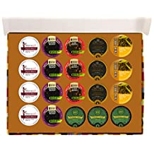 Crazy Cups Herbal Tea Deluxe Variety Pack for Keurig K-Cups Brewers, 20-Count