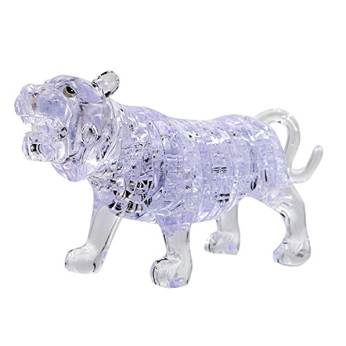 54 Thermolove 3D Decoration Model Toy Crystal Puzzle Game Toy - Plastic Crystal Tigers