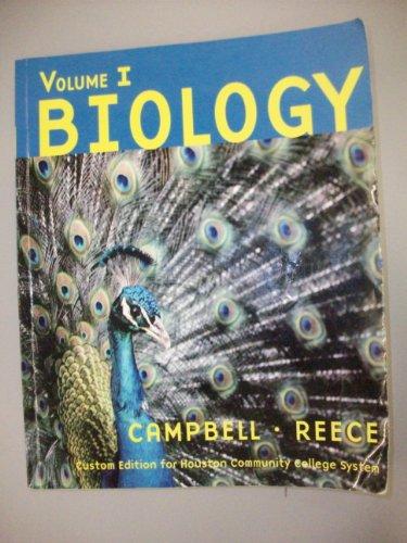 Biology, Volume 1, Custom Edition for Houston Community College System