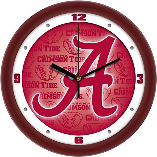 NCAA Alabama Crimson Tide Wall - Clock Team Wall