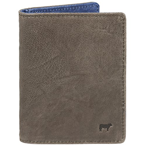 Will Leather Goods Flip Front Ipocket talian Lambskin Wallet, 4.5