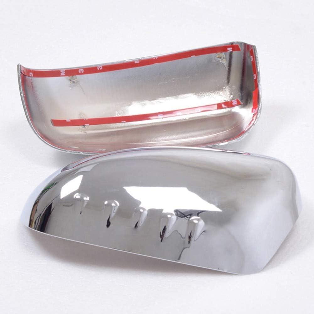 pour Renault Koleos 2008-2011 KSUVR Accessoires de pi/èce dauto de Garniture de Couverture de r/étroviseur de Porte lat/érale en Plastique chrom/é ABS