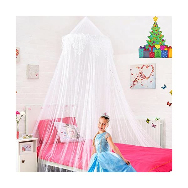 Canopy for Girls Bed - Quick and Easy to Hang Bedroom Accessories ...