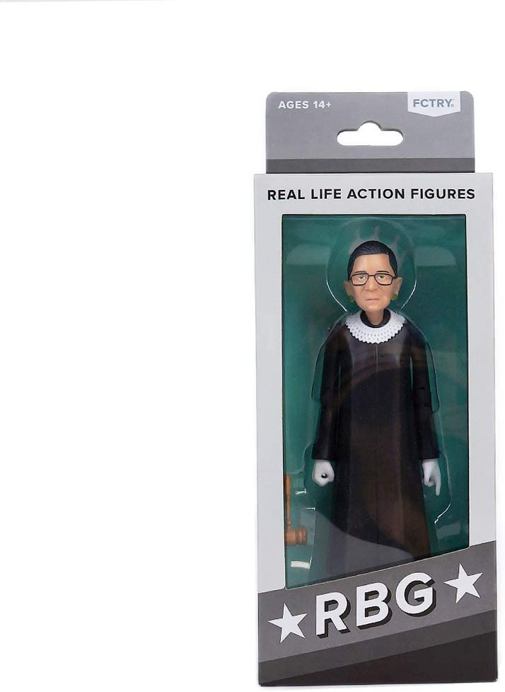 Real Life Political Action Figure, Ruth Bader Ginsburg (RBG)