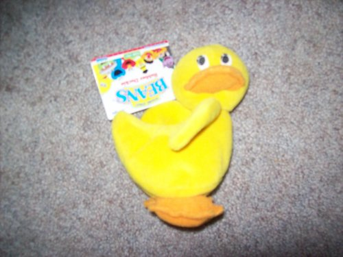 Ernie Rubber Duckie - Sesame Street Beans: Rubber Duckie by Tyco