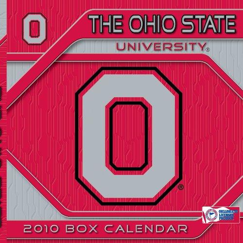 Ohio State Buckeyes - Box 2010 Box Calendar - State 2010 Box Calendar