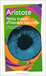 Petits traités d'histoire naturelle par Aristote