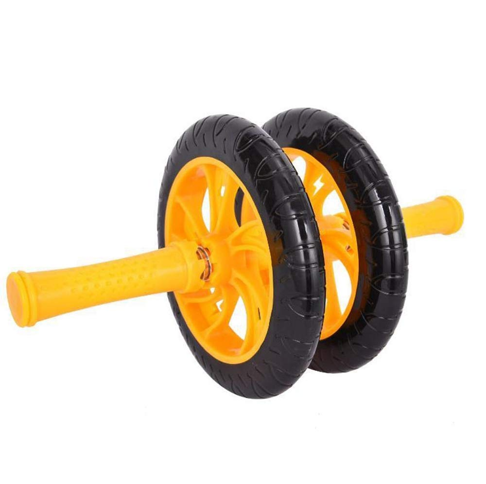 Olydmsky Wheel Bauchtrainer Gesundheit Bauch Bauch Rad Fitness Ausrüstung Haushalt Abdominal-ABS Rad