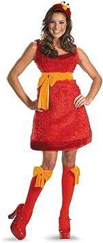 Disfraz de Elmo Sexy para Mujer: Amazon.es: Juguetes y juegos