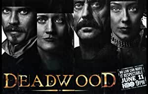 Deadwood Poster TV M 11x17 Timothy Olyphant Ian McShane Molly Parker Jim Beaver