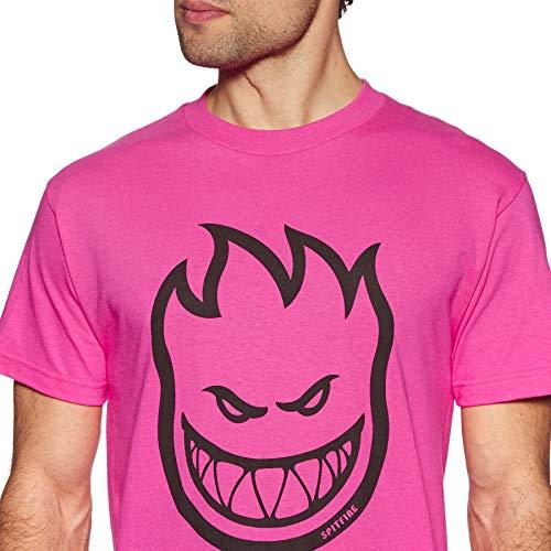 Black Spitfire Camiseta Hombre Para Pink Hot X7X18