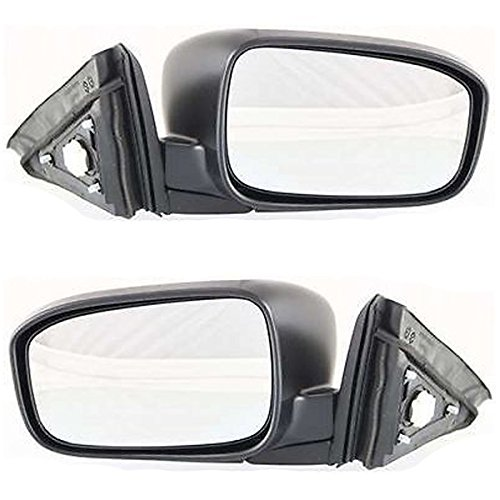 Koolzap For 03-07 Accord 2-Door Coupe Power Non-Heat Folding Mirror Left Right Side SET PAIR ()