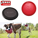 GOOD MEDIA The Best KONG Flyer For Dogs Fun Natural Rubber Frisbee Disc Small Large Colors ✅