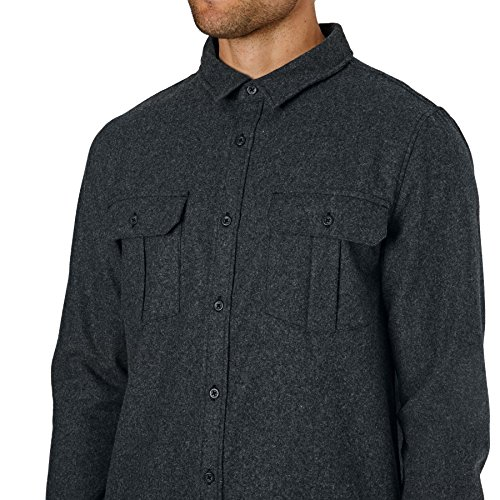 Quiksilver Travis Rice Wooly Shirt XX Large Grey Heather by Quiksilver (Image #3)