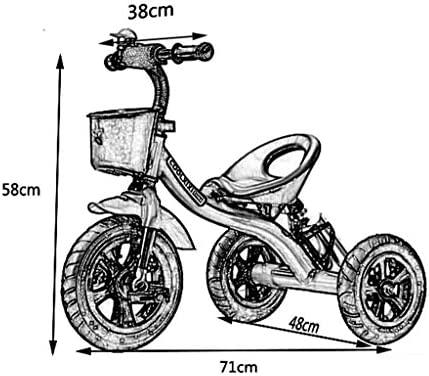 Moda Triciclo triciclo bicicleta cochecito de bebé niño ...
