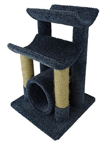 New Cat Condos Premier Cat Scratch and Sleep Furniture, Blue