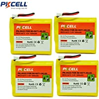 NiCd AA3 800mAh 3.6V Replacement Cordless Phone Rechargeable Battery for VTECH 80-5071-00-00,AT&T3300,6100,3301,6200,CPB-400D,SAN1 (4Pcs)