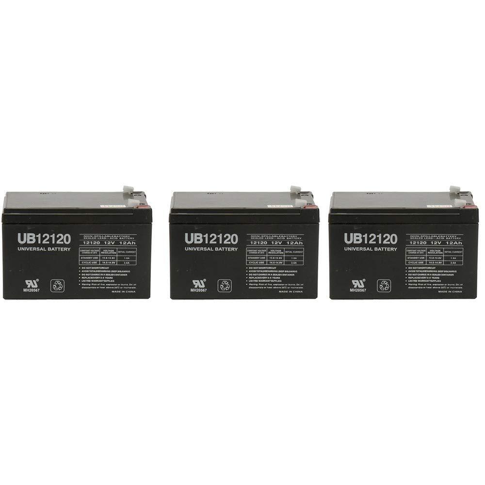 Amazon.com : 12V 12Ah F2 Razor Battery fits MX500 & MX650, W15128190003  Better Than OEM - 3 Pack : Sports Scooter Batteries : Sports & Outdoors