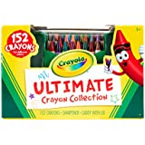 Crayola Ultimate Crayon Collection, 152 Crayons, Coloring Supplies, Styles May Vary, Gift