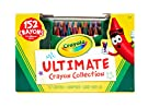 Crayola Ultimate Crayon Collection, 152 Crayons, Coloring Supplies, Styles May Vary, Gift