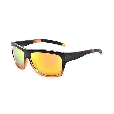 dcc878858bc Color  UV 400 Sunglasses Unisex Sun Protection Glasses - Gradient Orange  Sunglasses