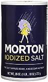 salt morton - Morton Iodized Salt, 26 oz, Pack of 2