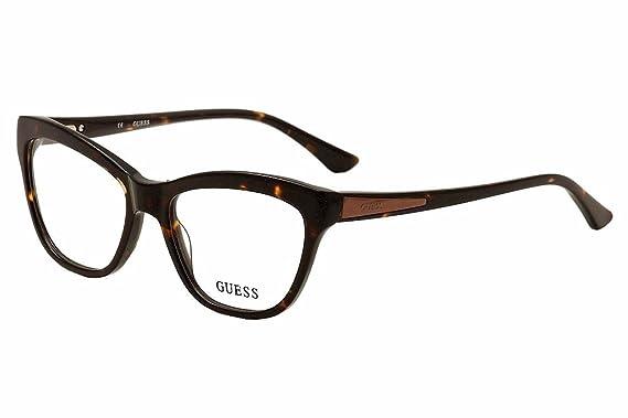 599b53b694a Guess Women s Eyeglasses GU2463 GU 2463 TO Tortoise Full Rim Optical Frame  53mm