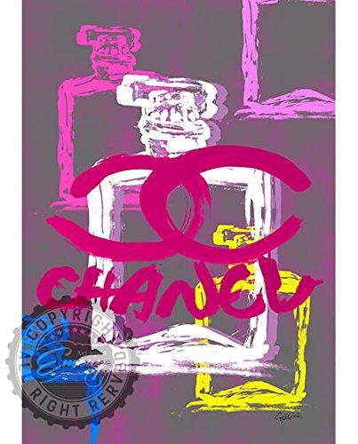 新作 Craig Garcia CHANEL シャネルアートポスタ A1 A2サイズ (glamorousA1, glmr03) B01H3R8RFC glamorousA1|glmr03 glmr03 glamorousA1